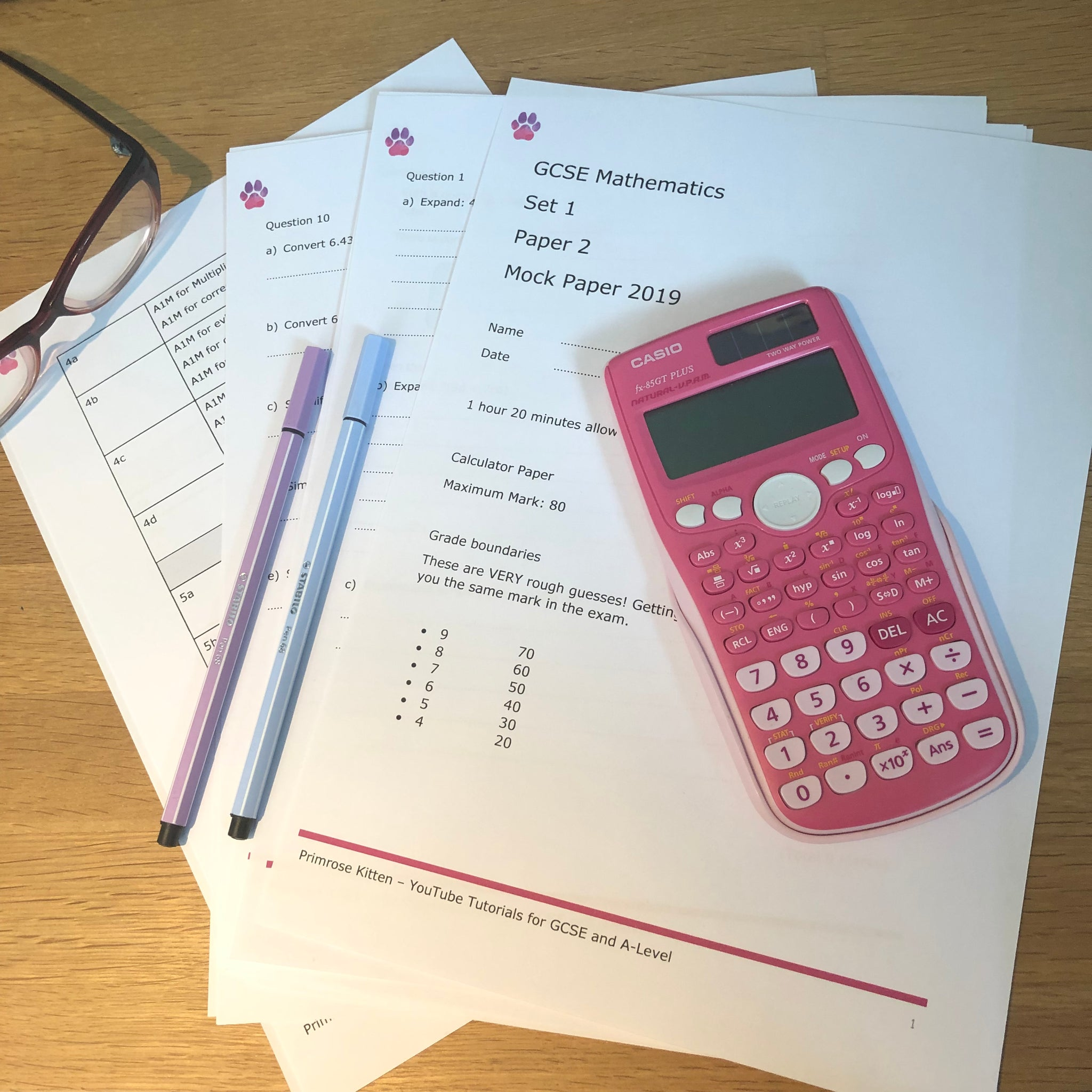 Gcse Foundation Tier Calculator Practice Exam Questions 2 Manual Guide