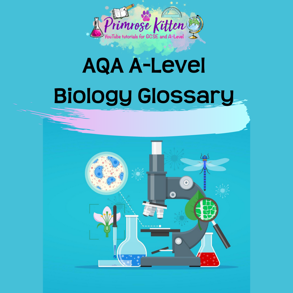 A-Level Biology Glossary - Printed Version
