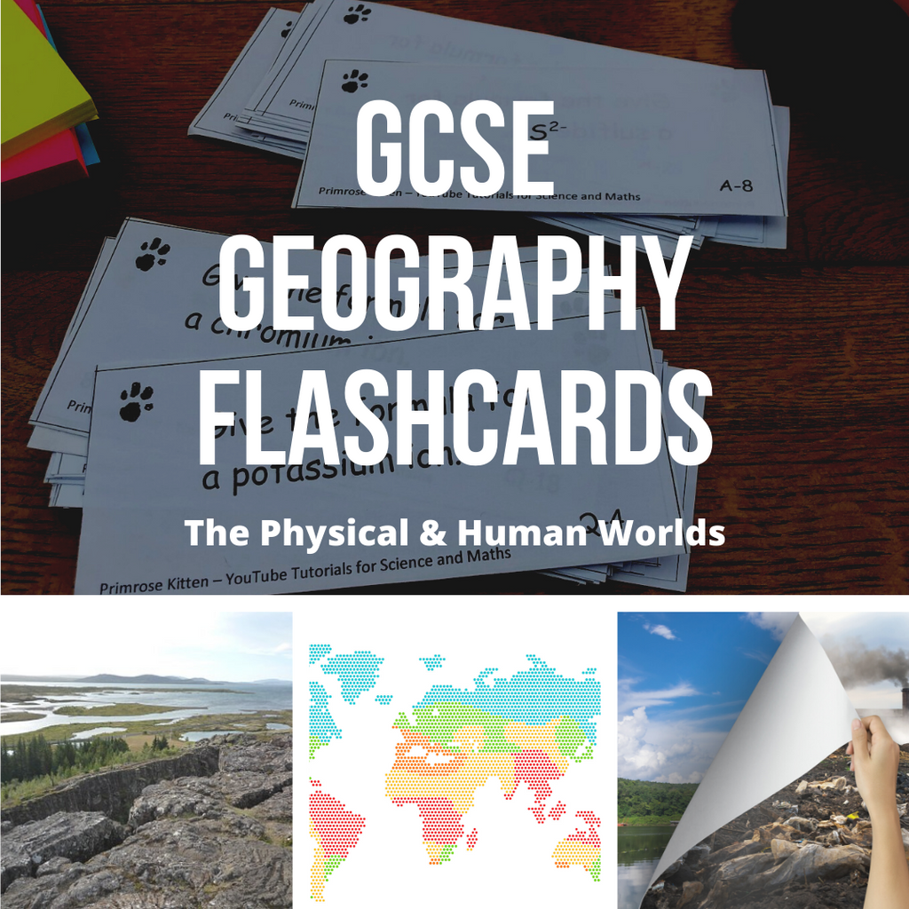 GCSE Geography flashcards