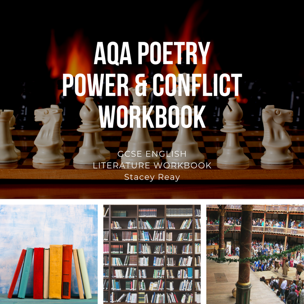 AQA Poetry - Power & Conflict Workbook - GCSE English Literature