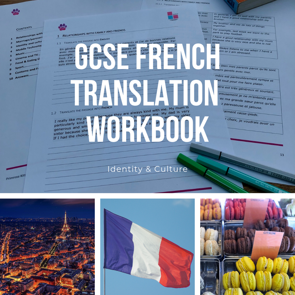 GCSE French Translation Workbook - Identity and Culture