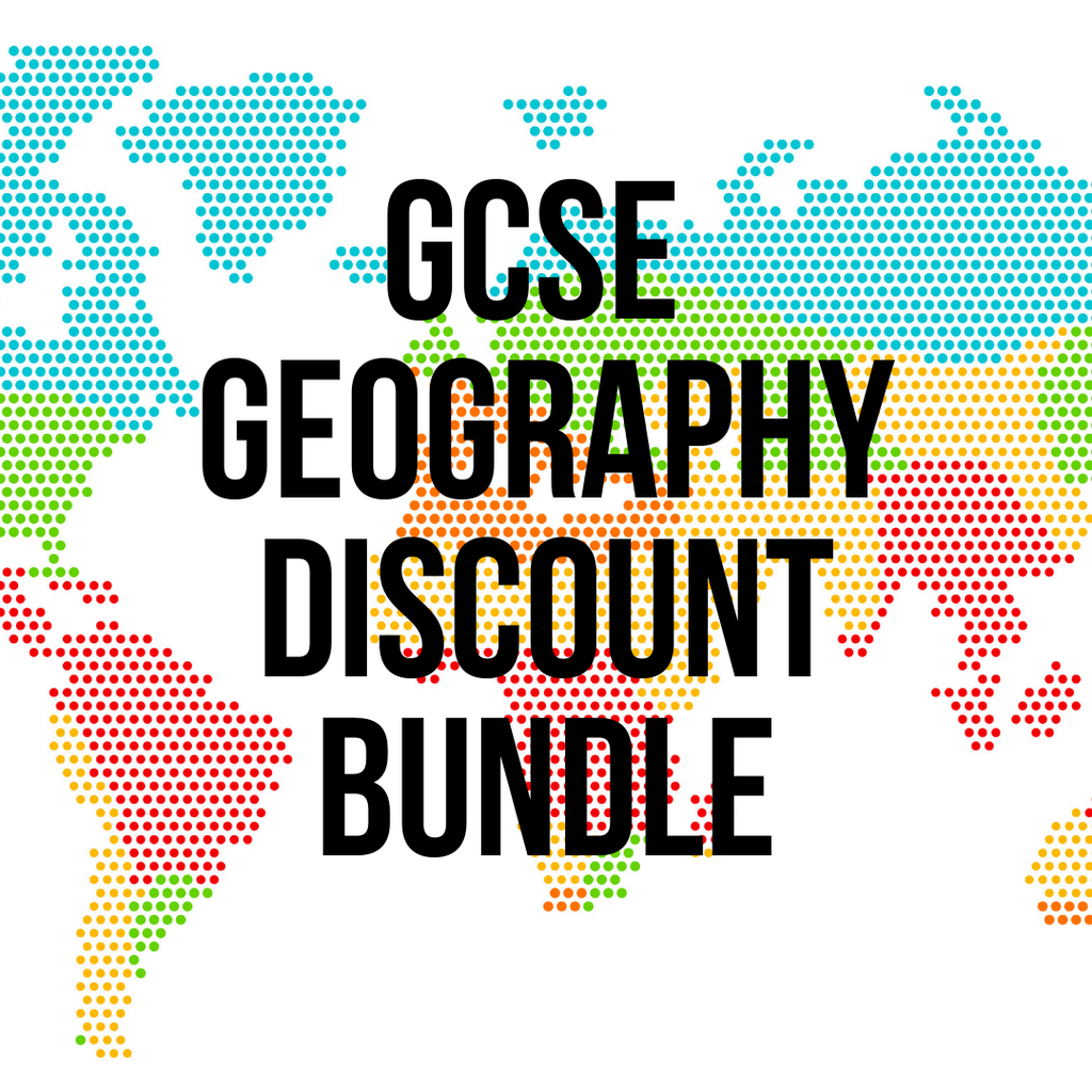 GCSE Geography DISCOUNT BUNDLE