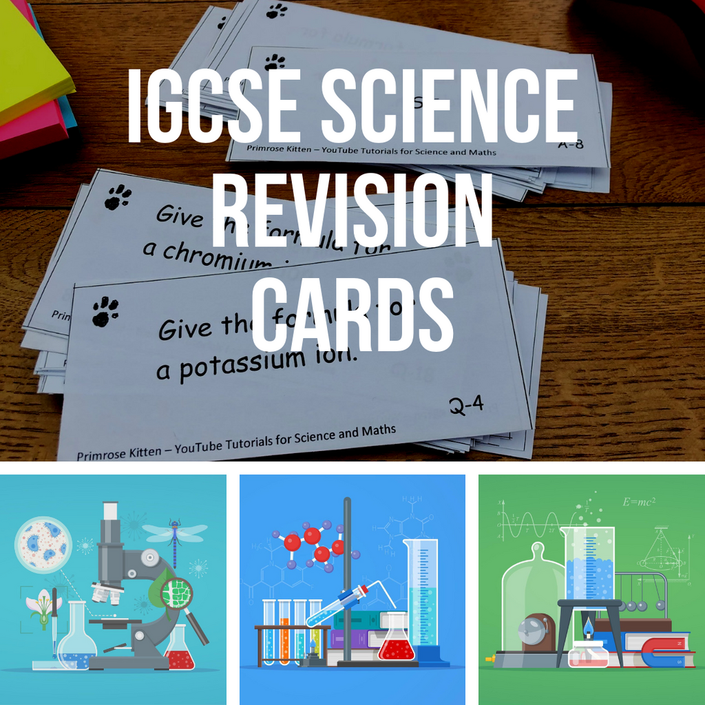iGCSE Science revision cards