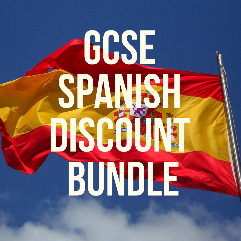GCSE Spanish DISCOUNT BUNDLE