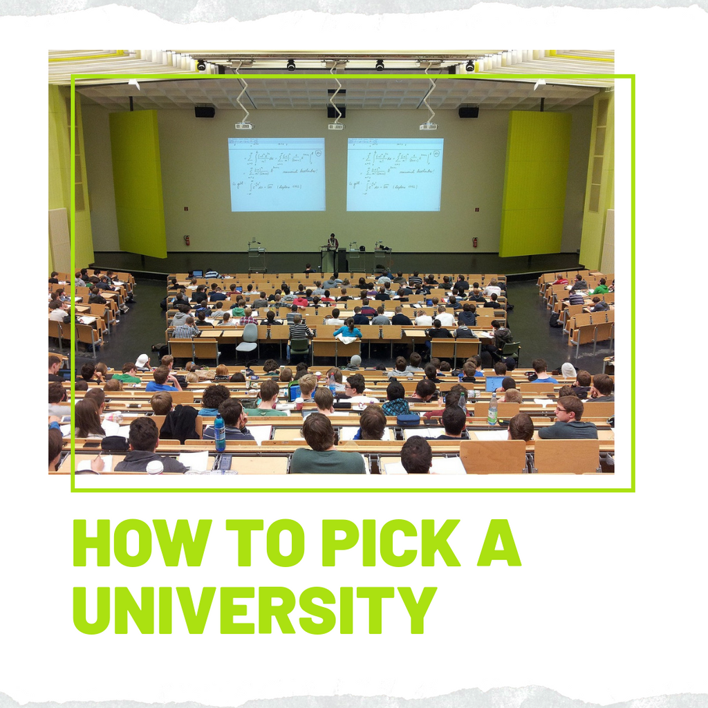 How to pick a university