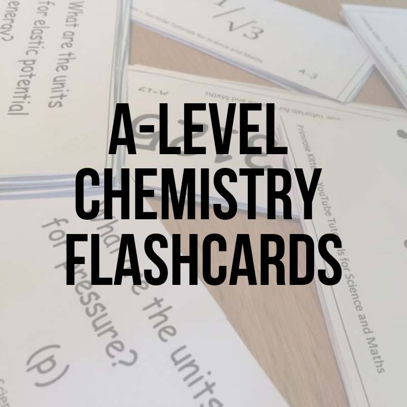 A-level Chemistry flashcards