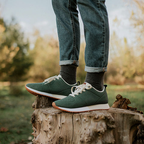 Sneakers - FUJI GREEN MARFIL