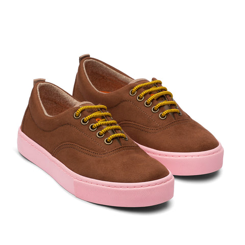 Zapatillas - KAILASH BROWN PINK