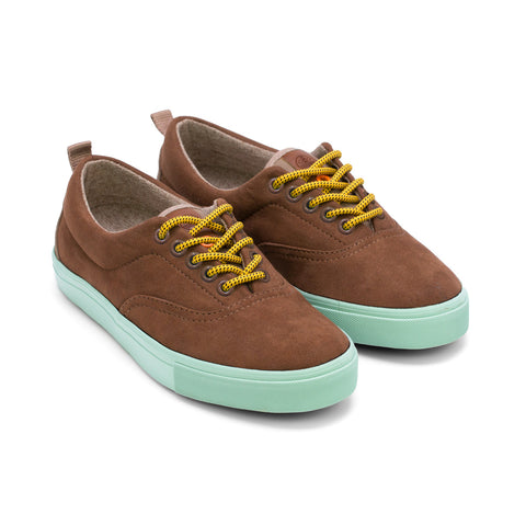 Sneakers - KAILASH BROWN TURQUOISE