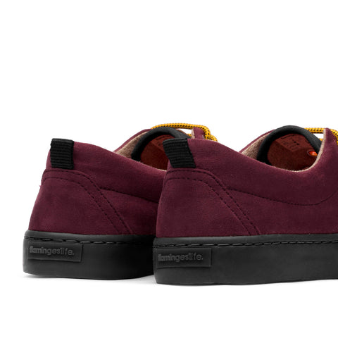 Sneakers - KAILASH BURDEOS BLACK