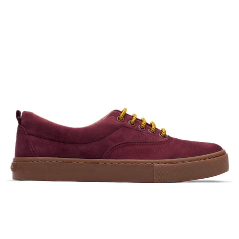 Sneakers - KAILASH BURGUNDY CARAMEL