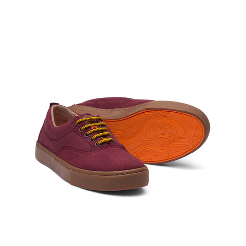 Zapatillas - KAILASH BURGUNDY CARAMEL