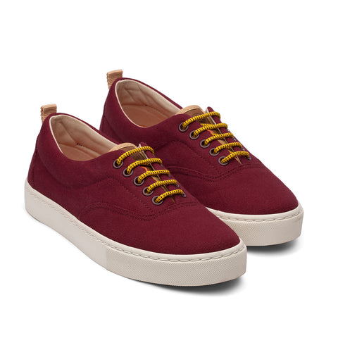 Zapatillas - KAILASH BURGUNDY LIGHT GREY