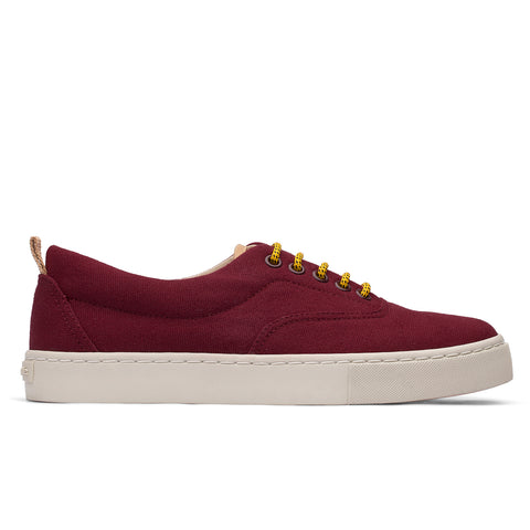 Sneakers - KAILASH BURGUNDY LIGHT GREY