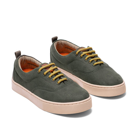 Sneakers - KAILASH GREEN NATURAL