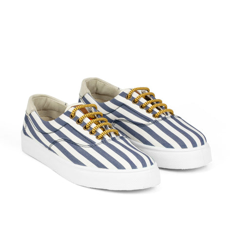 Sneakers - OSLO NAVY STRIPES