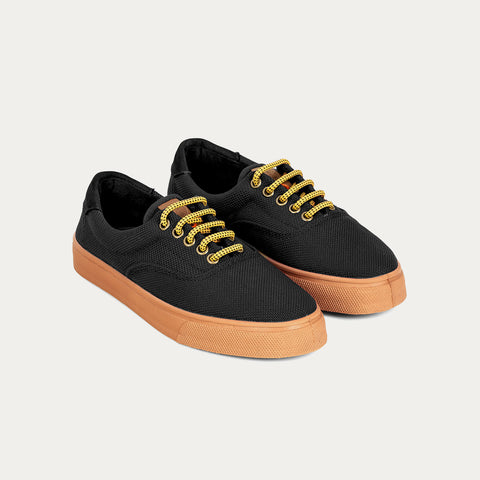 Sneakers - OSLO RECYCLED BLACK CARAMEL