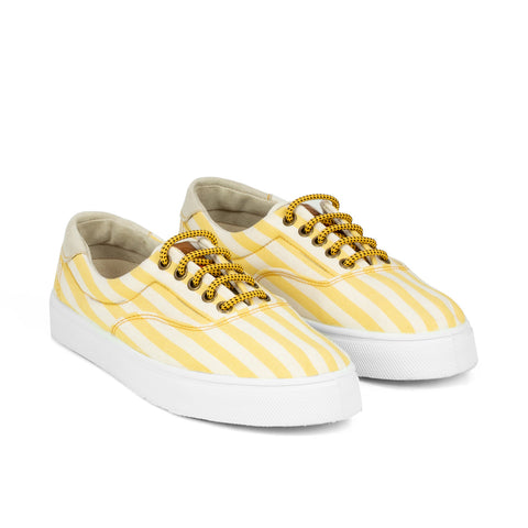 Sneakers - OSLO YELLOW STRIPES