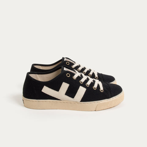 Sneakers - RANCHO BLACK IVORY