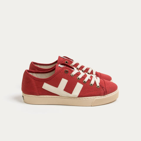 Sneakers - RANCHO RED IVORY