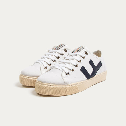 Zapatillas - RANCHO WHITE NAVY IVORY