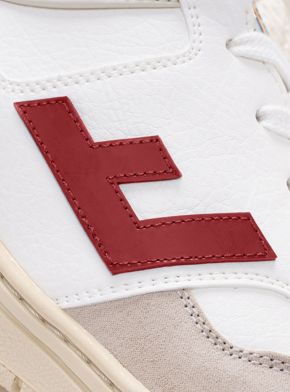 RETRO 90s WHITE RED MONOCOLOR