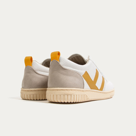 Sneakers - ROLAND V.2 MUSTARD IVORY