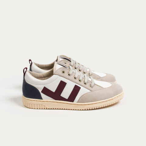 Sneakers - ROLAND V.2 TRICOLOR IVORY