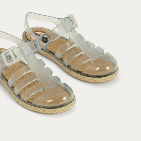 Sandalias Cangrejeras Esparto - THE CARIBBEAN TRANSPARENT
