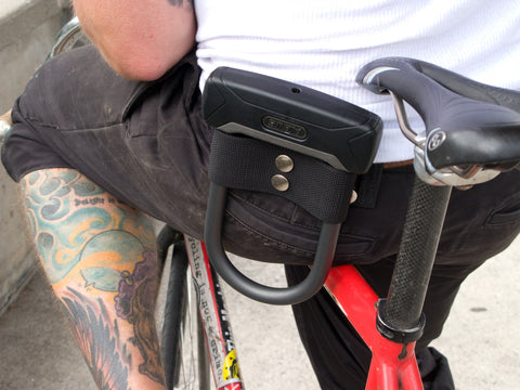 Lockt - Strap-On Mini U-Lock Holster