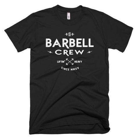 The 'Barbell Crew' t-shirt