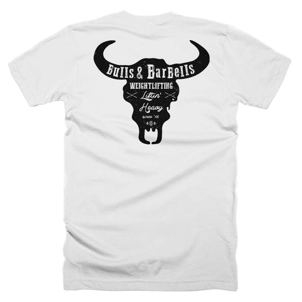 The 'Back Bull' weightlifting shirt | Iron Strong Apparel
