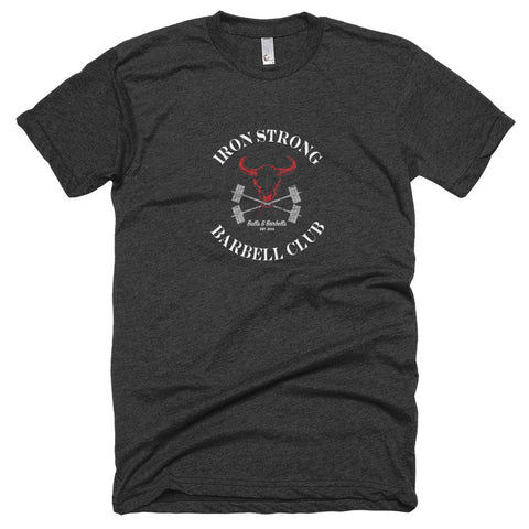 The 'Barbell Club' shirt