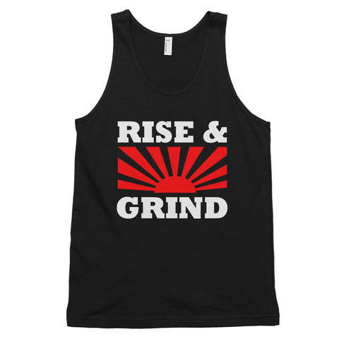 The 'Rise & Grind' Unisex Tank