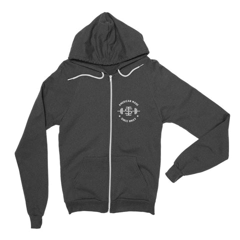 The 'Pocket Logo' Unisex Zip Hoodie (2 colours)