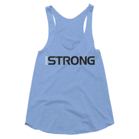 The 'Iron Strong' Racerback