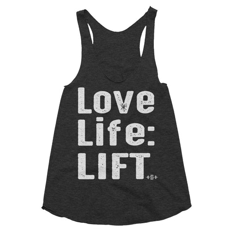The 'Love Life: LIFT' Racerback (3 colours)