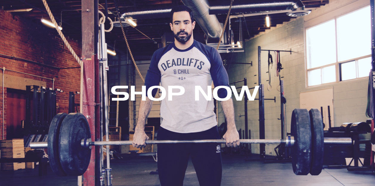Deadlifts & Chill | Men's weightlifting shirts