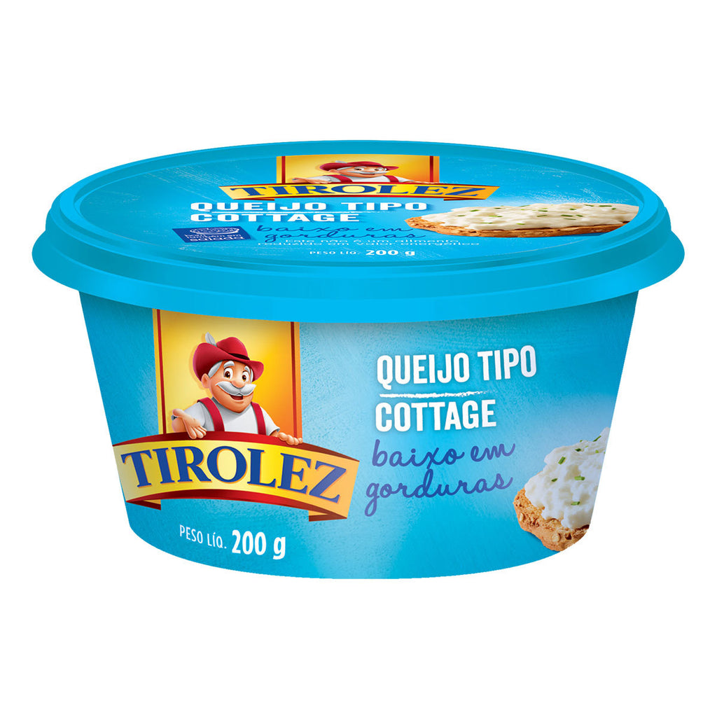 Tirolez Queijo Cottage 200g