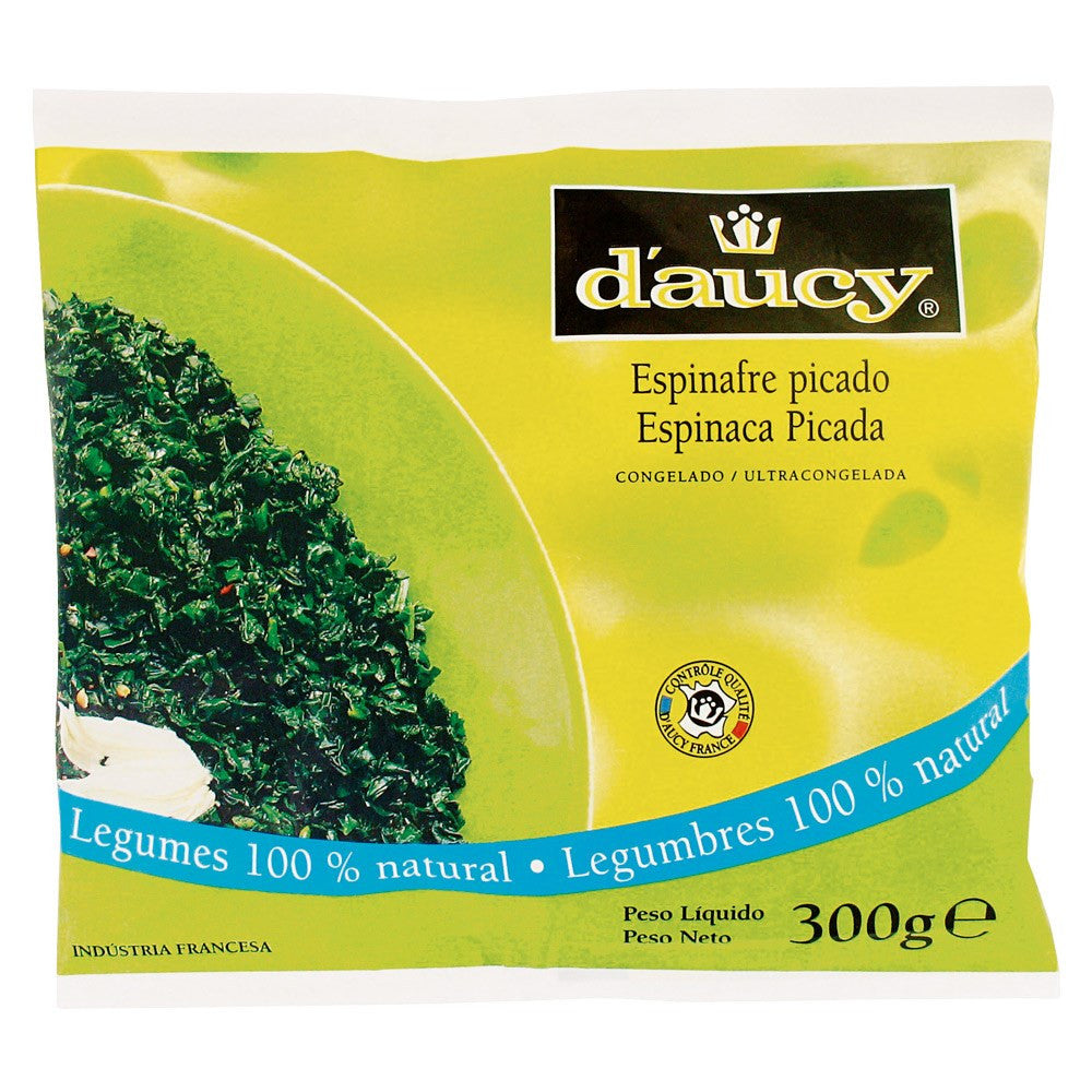 Daucy Espinafre Picado 300g