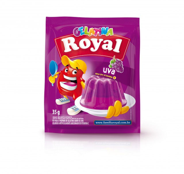 Royal Gelatina Uva 25g