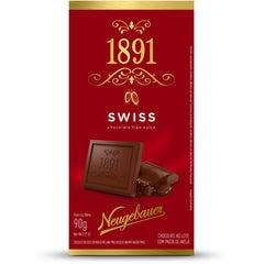 1891 Swiss Chocolate Tipo Suíço 90g