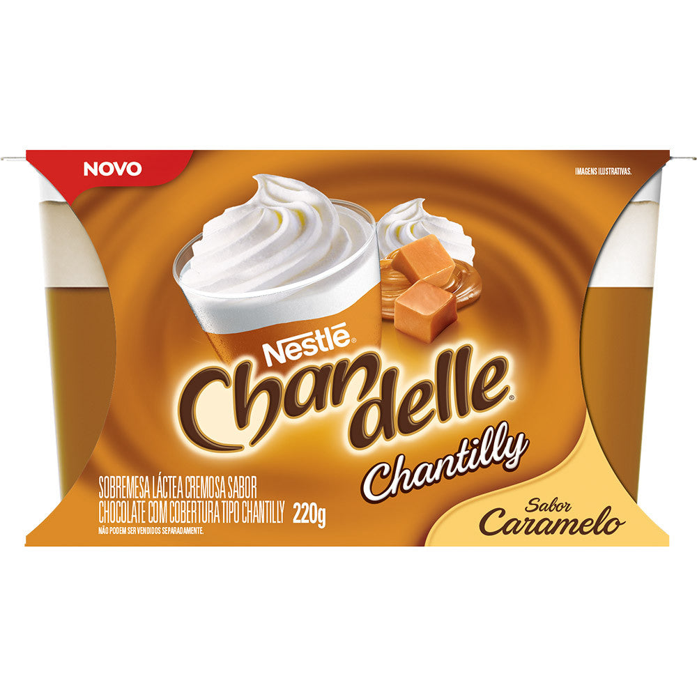 Chandelle Chantilly Caramelo 200g