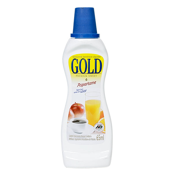 Gold Adoçante Aspartame 65ml