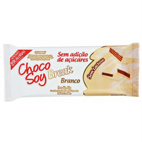 Choco Soy Break Diet Branco 42g