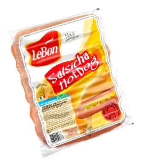LeBon Salsicha Hot Dog 450g