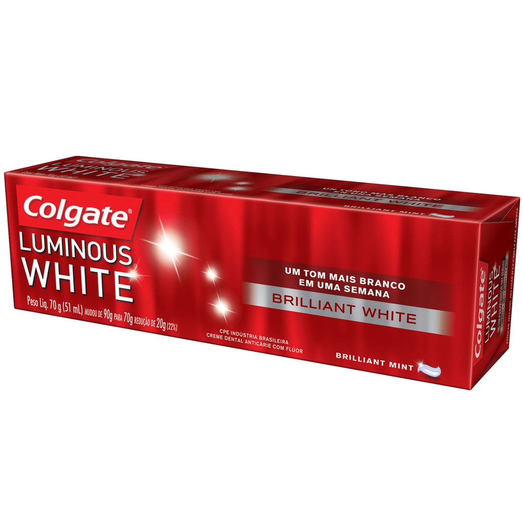 Colgate Creme Dental Luminous White 70g