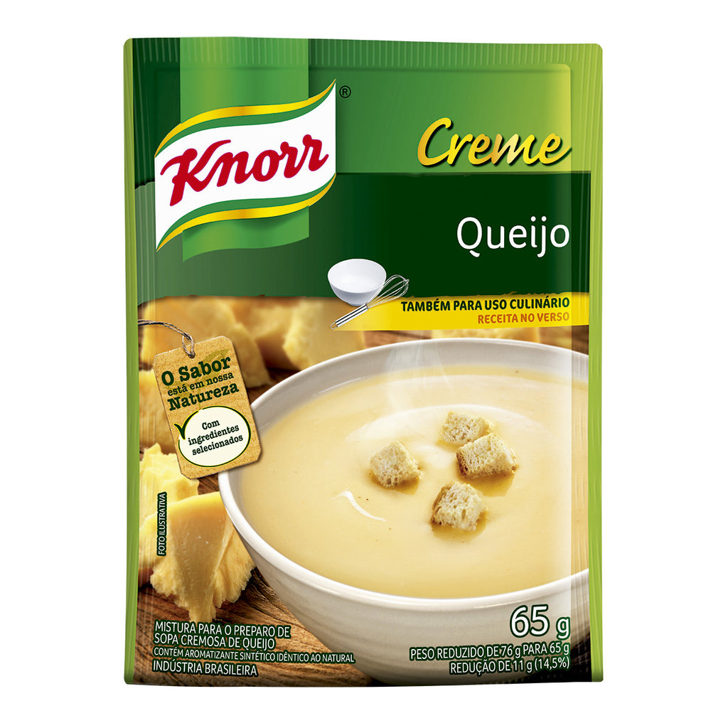 Knorr Creme Queijo 65g