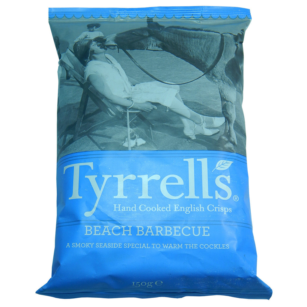 Tyrrell's Beach Barbecue 150g