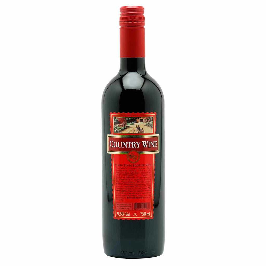 Country Wine Tinto Suave 750mL